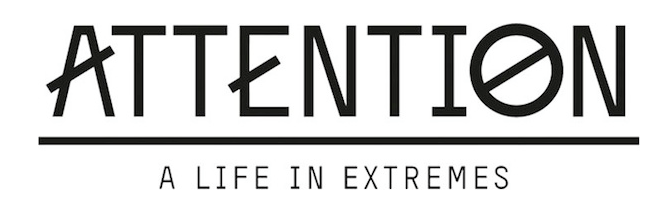 ATTENTION A LIFE IN EXTREMES LOGO