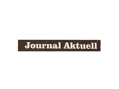 Journal Aktuell